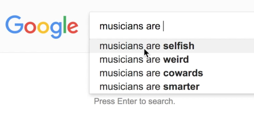 classical musicians autocomplete