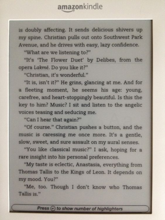 Fifty Shades of Grey - Delibes reference
