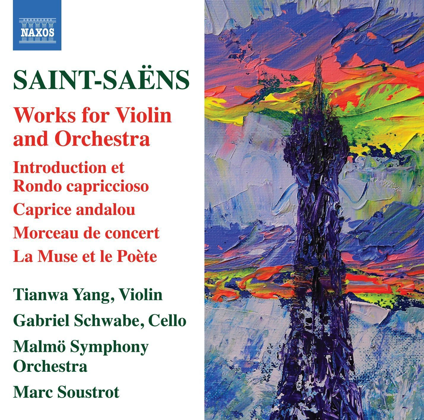 Saint-Saëns: Works for Violin and Orchestra - Tian