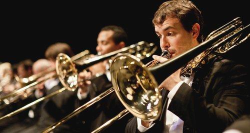 Brass musicians orchestra - earplugs