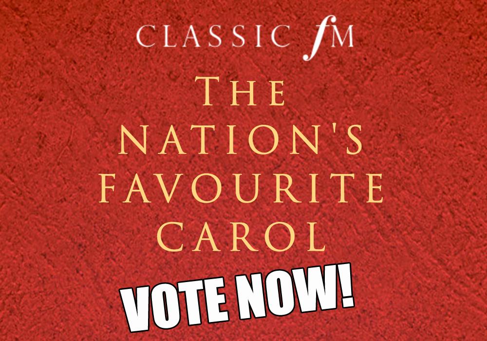 nation's favourite carol 2017 vote now