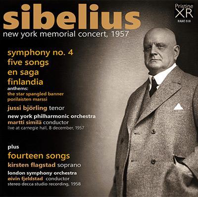 Sibelius New York Memorial Concert 1957  Pristine