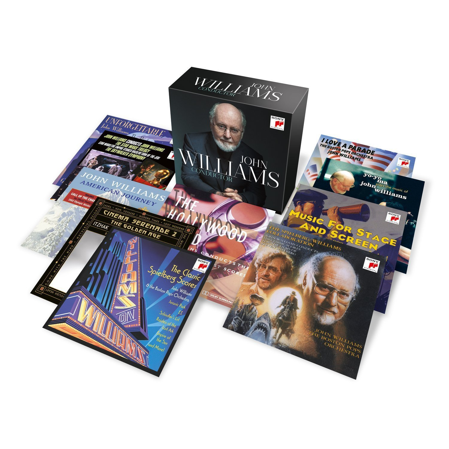 John Williams Conductor  Sony (20CDs)