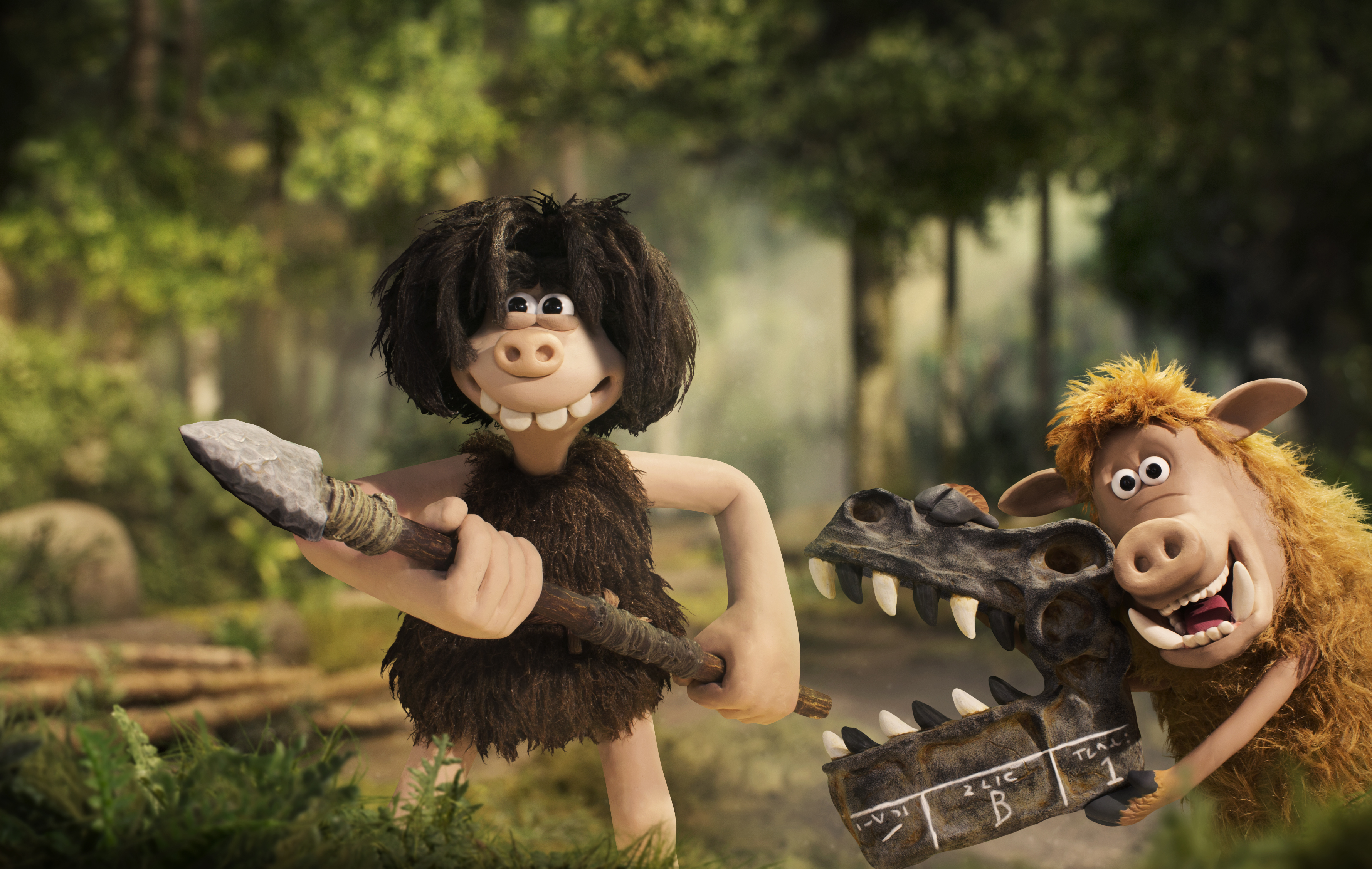Early Man – Dug and Hognob. Publicity image from S