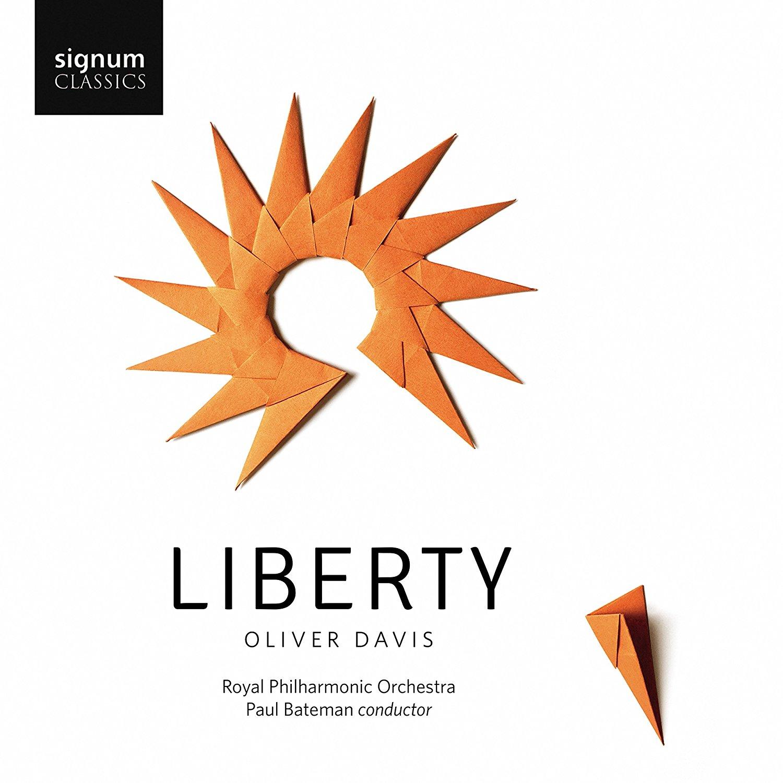 Olivier Davis: Liberty  Signum Classics