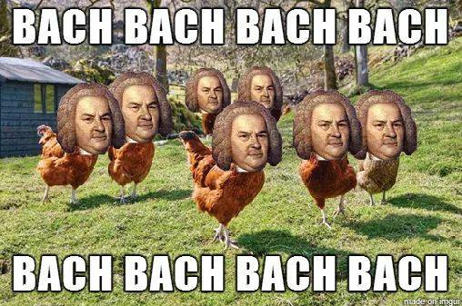 Bach chicken meme