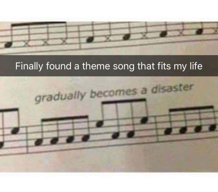 gradually becomes disaster meme