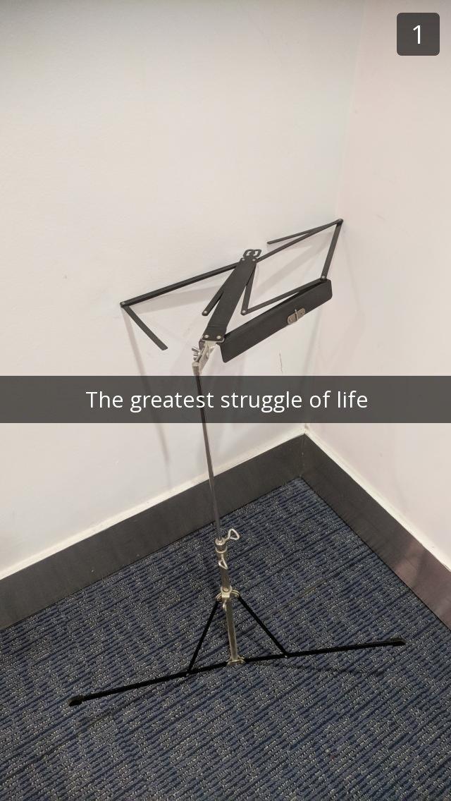 greatest struggle of life