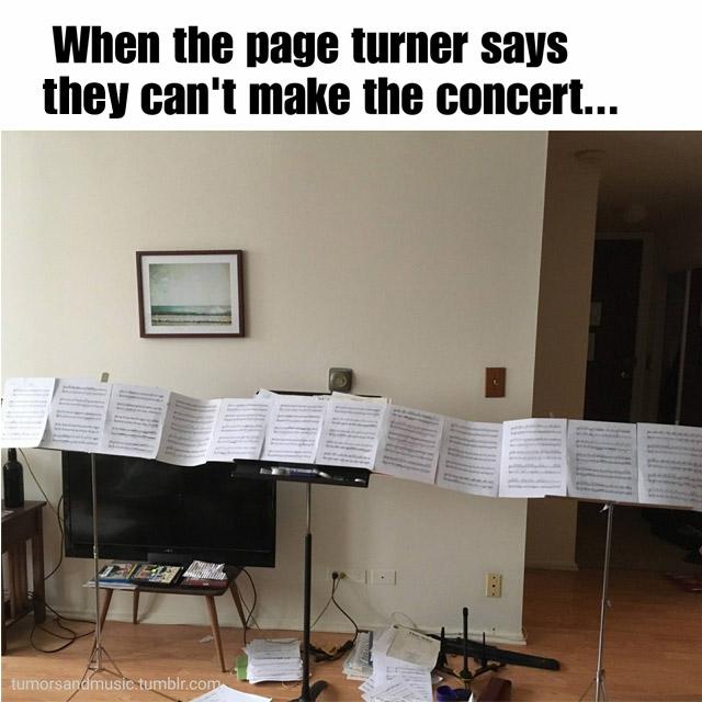 page turner meme