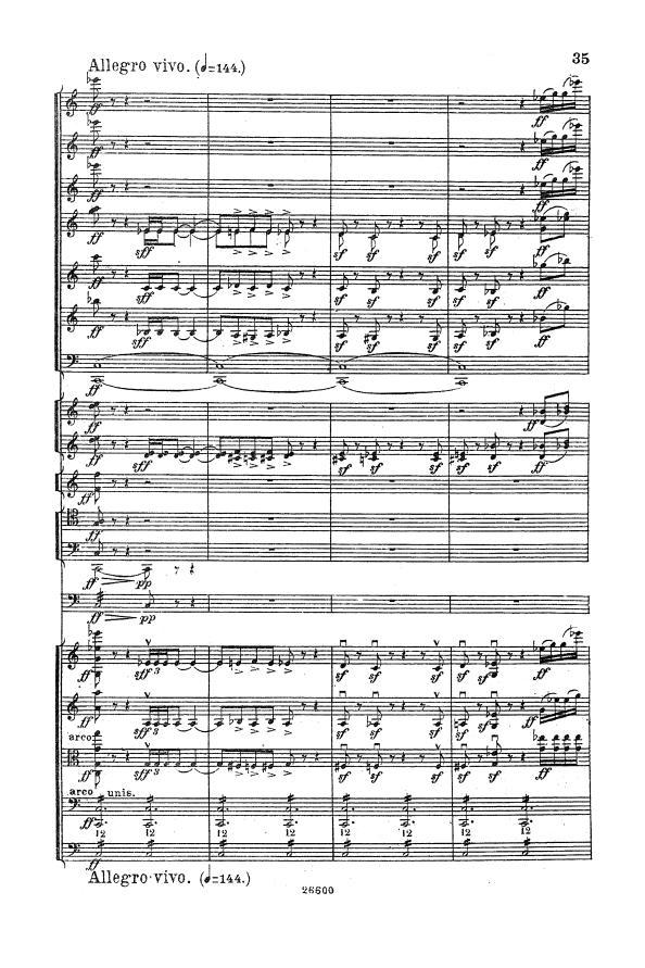 Tchaikovsky Symphony No.6 fortissimo