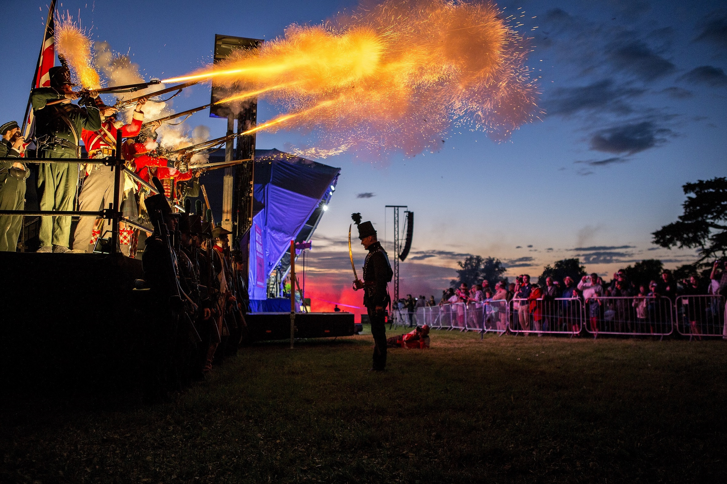 Battle PROMS 2018 - musket fire