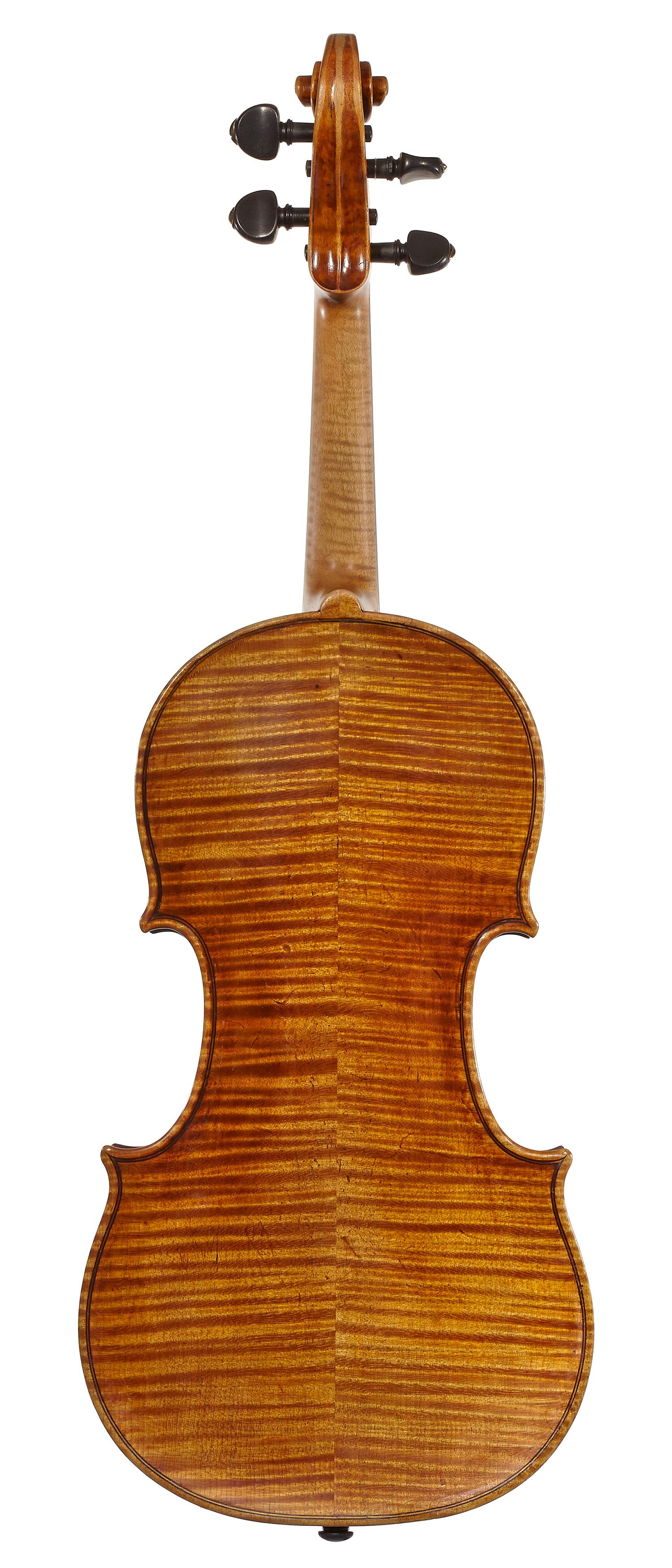 Min Kym Stradivarius back