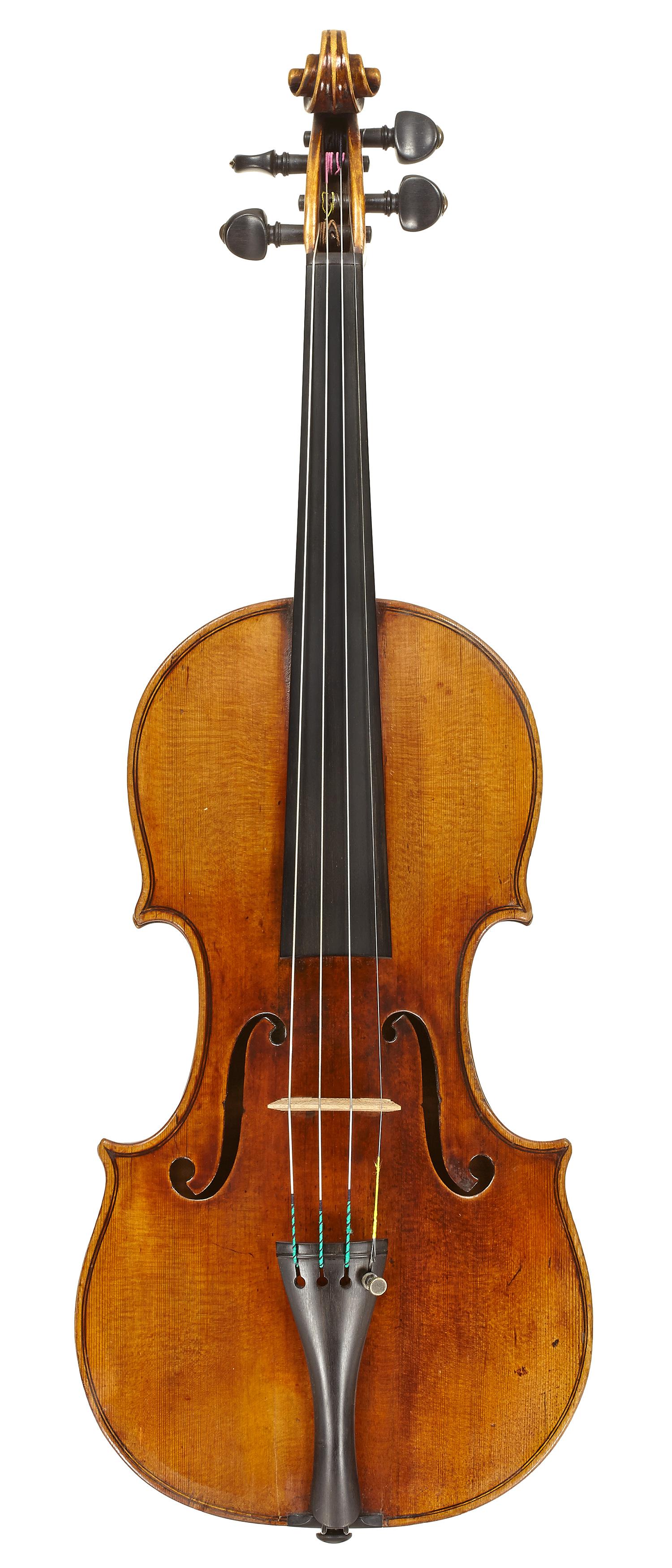 Min Kym's Stradivarius front