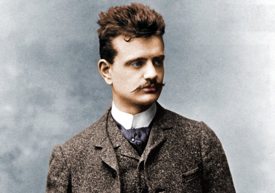 Jean Sibelius in colour