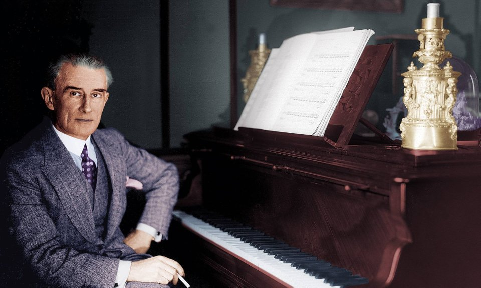 Ravel in colour