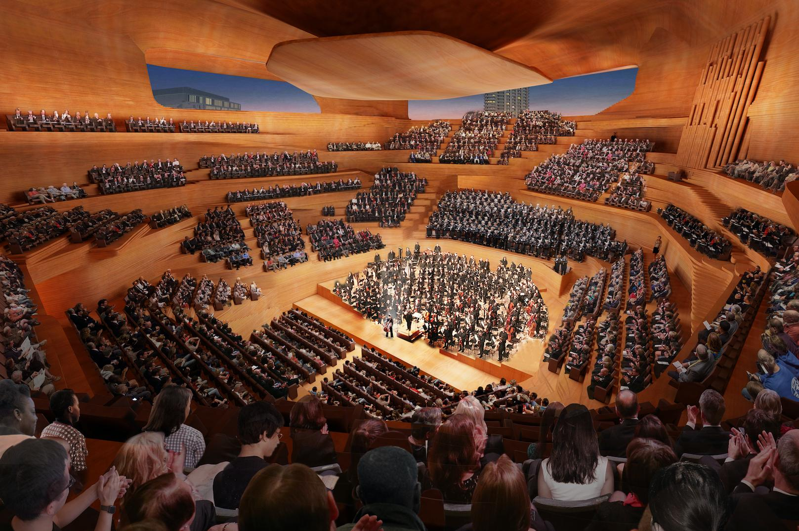 Design for new London concert hall