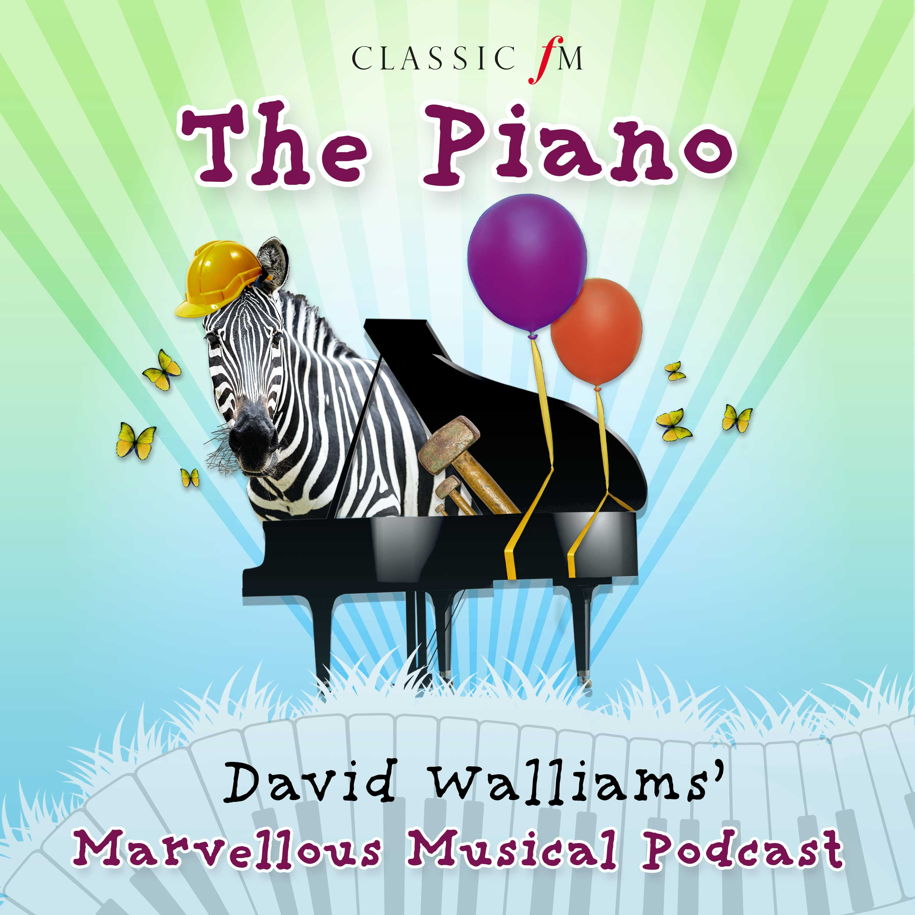 Listen to David Walliams' Marvellous Musical Podcast – out