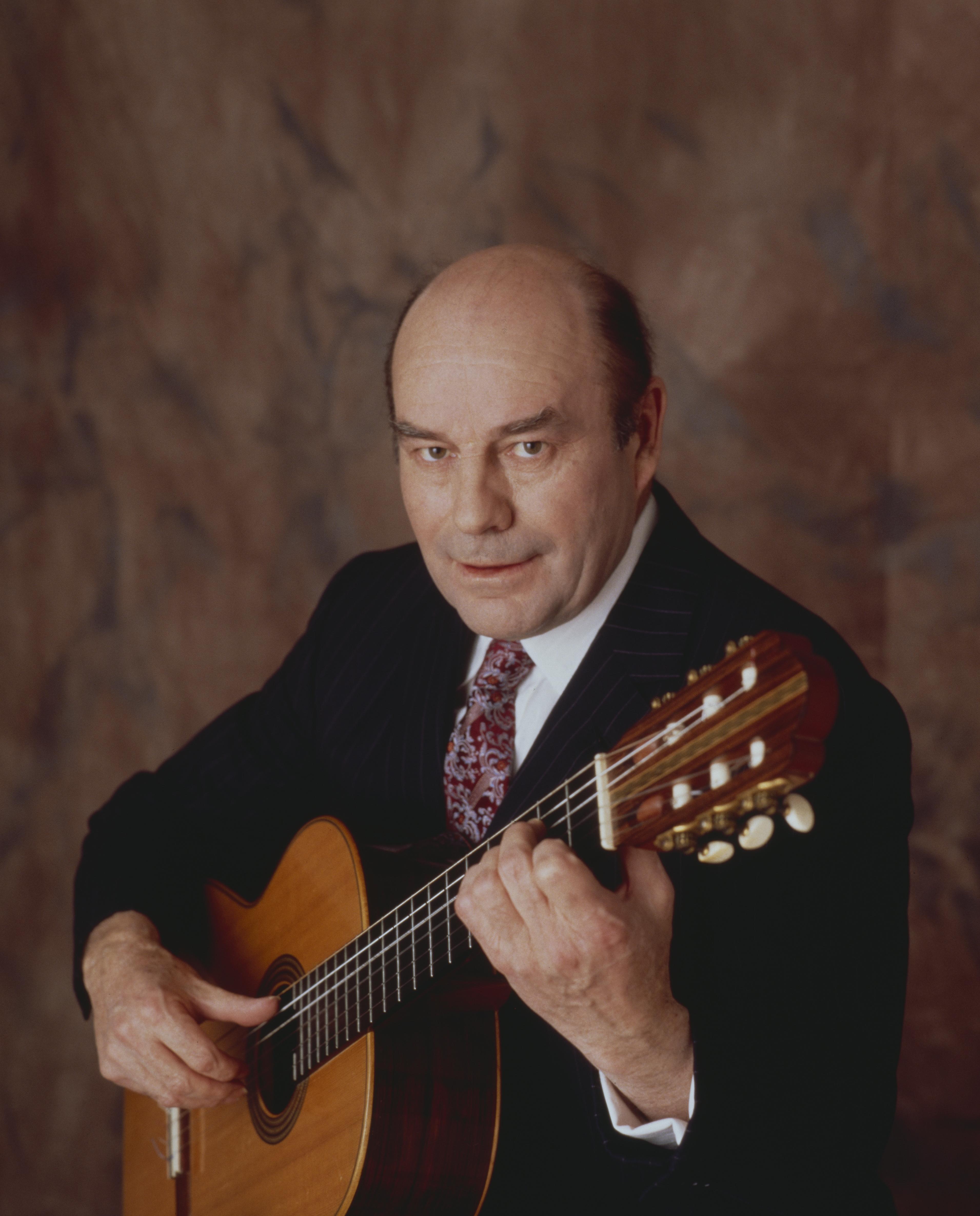 Classical guitarist Julian Bream has died