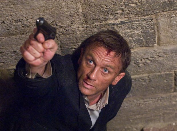 quantum of solace James Bond Daniel Craig