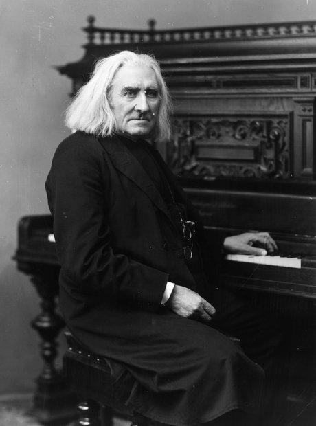 Franz Liszt composer pianist