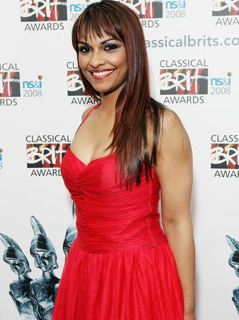 Danielle de Niese at the Classical Brits 2008