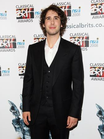 Josh Groban at the Classical Brits 2008