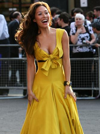 Myleene Klass at the Classical Brits 2008