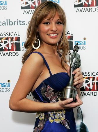 Nicola Benedetti at the Classical Brits 2008
