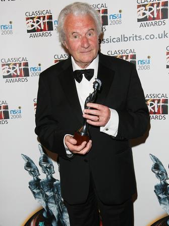 Sir Colin Davis at the Classical Brits 2008