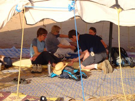 Trek Sahara - blister clinic