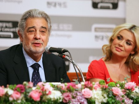 Katherine jenkins and Placido Domingo