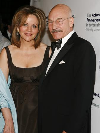 Patrick Stewart and Renee Fleming