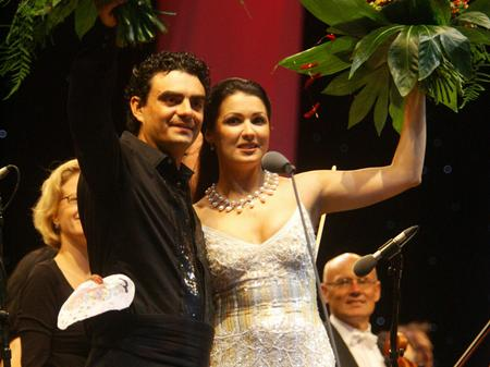 Anna Netrebko and Rolando Villazon