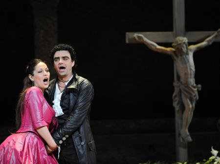Nino Machaidze and Rolando Villazon