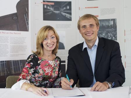 Vasily Petrenko and Lorraine Rogers