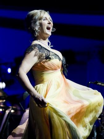 Lesley Garrett Performs At The Tower Of London