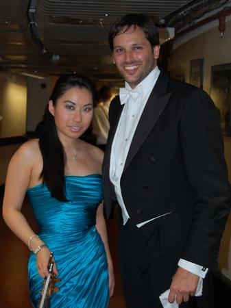 Jonathan Schiffman and Sarah Chang