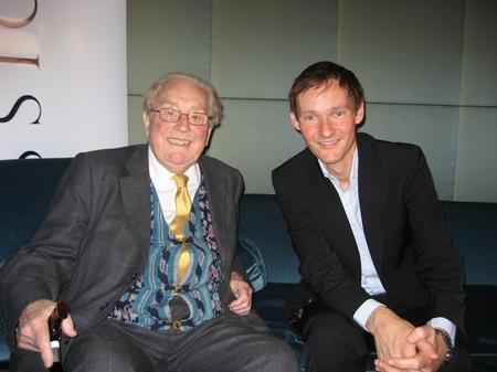 Sir Charles Mackerras and Mark Forrest