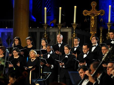 vatican choir, alma mater
