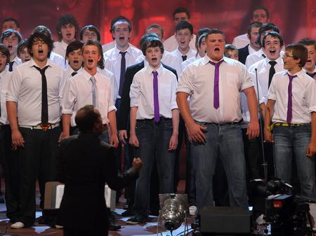 Only Boys Aloud Only Men Aloud