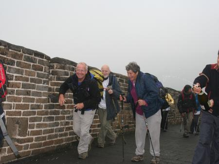 Great Wall of China - Finish!
