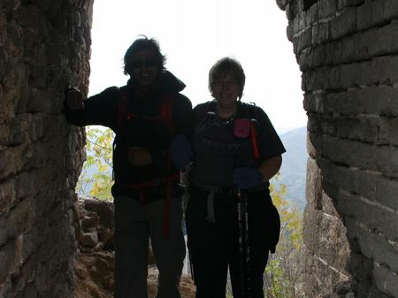 Great Wall of China - Nadeem and Bev