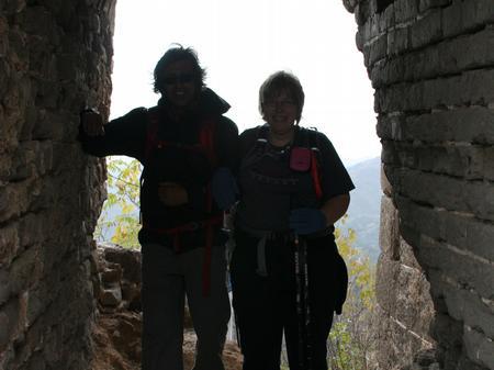 Great Wall of China - Nadeem and Bev