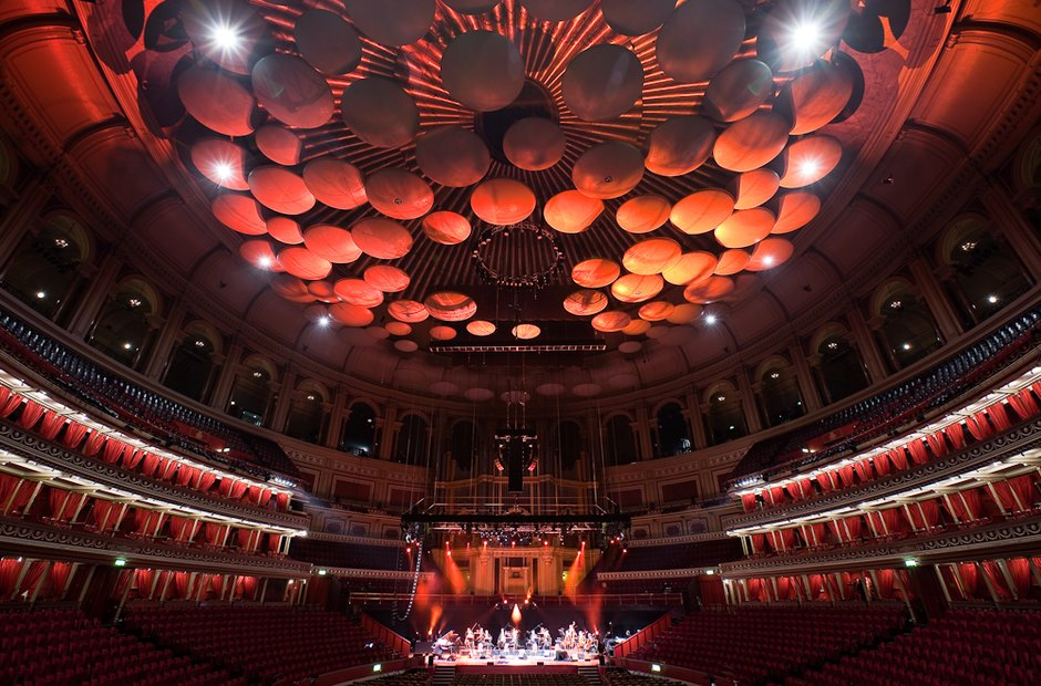 Ludovico Einaudi Royal Albert Hall UK classical music venue