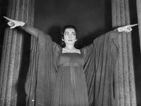 Maria Callas Medea Covent Garden soprano