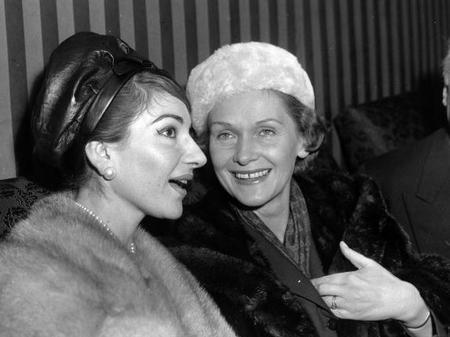 Maria Callas Elisabeth Schwarzkopf