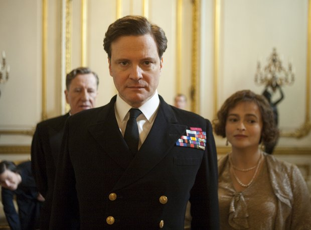 The Kings Speech Helena Bonham-Carter Colin Firth Geoffrey Rush