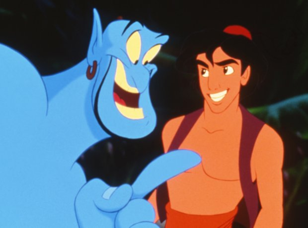 Aladdin Robin Williams Disney