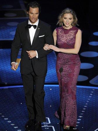 Matthew McConaughey and Scarlett Johansson