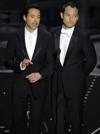 Robert Downey Jr. and Jude Law